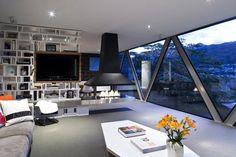 Amazing Design of Shallard House living area interior