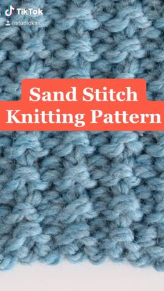 Knitting Stiches, Knitting Videos, Easy Knitting, Loom Knitting, Knitting Patterns Free, Knitting Projects, Stitch Patterns, Knit Stitches For Beginners, Crochet Designs