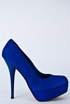 Blue! So pretty.