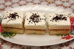Jablkovo-pudingové rezy Krispie Treats, Rice Krispies, Nutella, Tiramisu, Cheesecake, Pudding, Healthy Recipes, Healthy Food, Ethnic Recipes