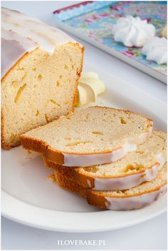 Ciasto z mascarpone - I Love Bake Russian Recipes, Sweet Desserts, Vanilla Cake, Caramel, Pancakes, Sandwiches, Food And Drink, Easter, Sweets