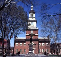 Philadelphia's Independence National Historical Park commemorates many of the people, places and events associated with American Independence.  The park includes about 20 historic buildings that are open to the public.  Three other National Parks located within a mile of Independence Hall include Edgar Allen Poe National Historic Site, Thaddeus Kosciuszko Memorial and the Gloria Church National Historic Site.