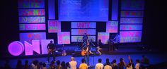 This would be GREAT for a DNOW! Neone-Stage-Design