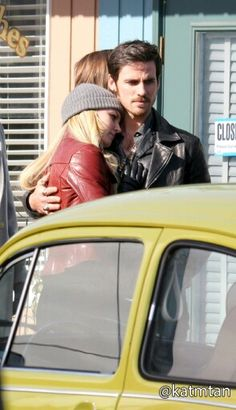 Jennifer Morrison and Colin O'Donoghue - Behind the scenes. Season 4 Episode 20 - 3rd March 2015