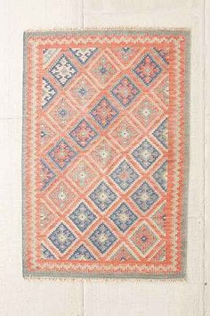 National Diamond Woven Rug - Urban Outfitters