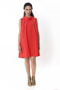 Cuichi 2 High Neck Dress, Dresses For Work, Fashion, Viva Mexico, Sustainable Fashion, Dressing Up, Cotton, Women's, Moda