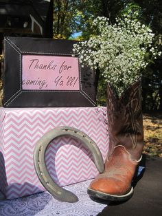 """Photo 1 of 47: Pink cowgirl / Birthday """"Ashtyn's Outdoor Cowgirl Party"""" 