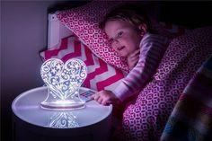Nattlys Hjerte, med fjernkontroll