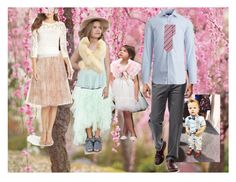 """""""Cherry Blossom Outfit Suggestion"""" by heather-mcduffy-tristan on Polyvore featuring Sole Society, Haggar and Jenny Yoo"""