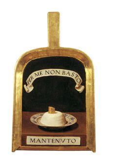 """Lorenzo Lippi (1606-1665) - Pala di Baldassarre Suarez detto il """"Mantenuto"""" - 1650 circa - Olio su tavola - Firenze, Accademia della Crusca"""