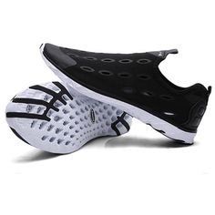 Only US$29.99, buy best SOCONE Men Water Summer Breathable Slip On Beach Sneakers Swimming Sandals Wading Fast Shoes  sale online store at wholesale price.US/EU warehouse.