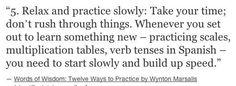 Practice makes perfect.