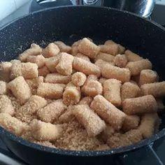 Könnyed túrós nudli   Haraszti Judit receptje - Cookpad receptek Almond, Recipes, Food, Essen, Almond Joy, Meals, Ripped Recipes, Yemek, Eten