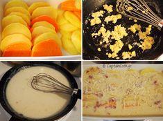 Πατάτες Ογκρατέν Cooking Recipes, Blog, Cooker Recipes, Blogging, Recipies, Recipes