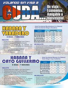Vacaciones en #Cuba www.adrepresentaciones.com