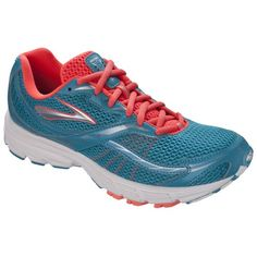 Brooks Womens Launch Running Shoes 11 BM US CaribbeanSilverFiery Coral * See this great product.(This is an Amazon affiliate link and I receive a commission for the sales)