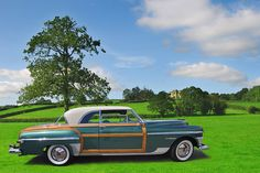 1950 Chrysler Town and Country Newport Coupe by gswetsky, via Flickr