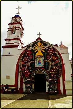 Parroquia San Mateo,San Mateo Tlalchichipan,Estado de México