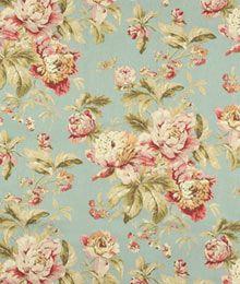 Waverly Fleuretta Mist Fabric