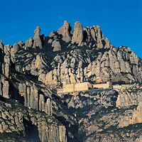 Ride to the top of Montserrat for panoramic views.