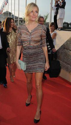 Sienna Miller Moccasins - Sienna Miller Looks - StyleBistro