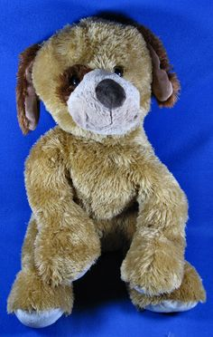 "Roscoe Dog Toys R Us Huge 20"" Plush Soft Golden Brown Floppy Puppy Brown Spots  #ToysRUs"