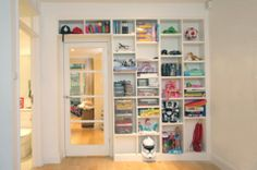 Built in Bookcases and Bookshelves - Made-to-Measure - JOAT-London W4