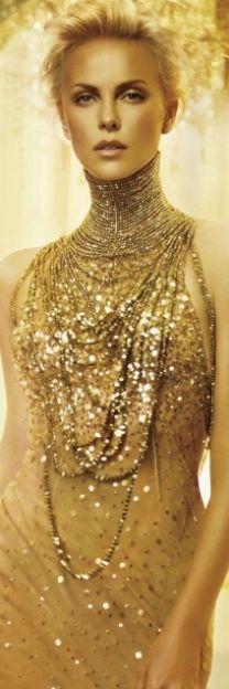 Golden glam...