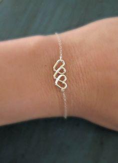 【Jewelry in My Box】Infinite Love Heart Infinity Bracelet by vintagestampjewels Biggest Size please :)