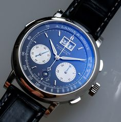A. Lange and Sohne Datograph Up / Down Watch Review