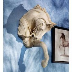 The Thoroughbred Horse High Relief Wall Sculpture