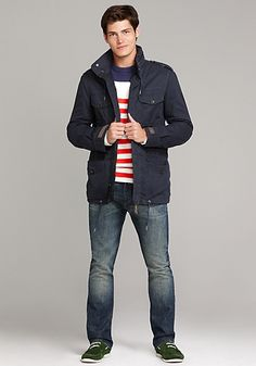 There's just something about a man in Tommy ♥
