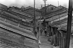 姚孟嘉 | 淡水重建街, 1974