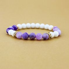 Cheap beaded valance, Buy Quality bead bracelet supplies directly from China bead patterns bracelet Suppliers: 10pcs/lot New fashion Jewelry white agate Charm Bracelet Beads Bracelets For Women and Men mujer pulseras Yoga gift 6 color