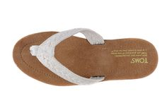 Toms white brown Slippers