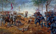 Hornets' Nest by Dale Gallon: 8th Iowa at Shiloh, April 6, 1862