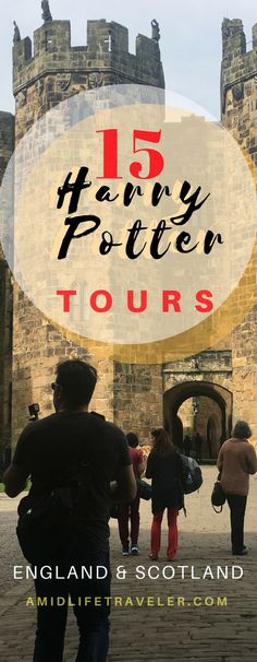 Big list of the Top Harry Potter Tours in England and Scotland. Tours in London, Harry Potter studio, Hogwarts train, a real Hogwarts castle from the movies and more. Bucket list family vacation! #harrypotter #harrypottertours #familytravel