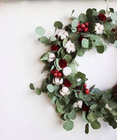 DIY Holiday Wreath |