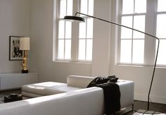 diy arc lamp with contemporary table lamps living room modern and black floor lamp Contemporary Floor Lamps, Modern Floor Lamps, Cool Floor Lamps, Floor Lamp Shades, White Floor Lamp, Living Room Modern, Living Room Designs, Living Rooms, Sala Vintage