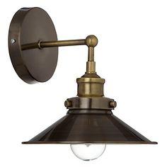 Buy John Lewis Tobias Resto Wall Light from our Wall Lighting range at John Lewis. Cottage Lighting, Living Room Lighting, Bedroom Lighting, Kitchen Lighting, Conservatory Lighting, Oak Frame House, Hallway Inspiration, Hall Lighting, Wall Lights