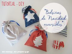 mis nancys, mis peques y yo: DIY Diy Projects To Try, Sewing Projects, Little Bag, Leather Jewelry, Christmas Time, Patches, Homemade, Crafty, Creative