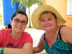 Ashley and Kim in Cozumel