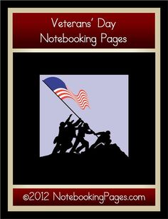 Veterans' Day Notebooking Pages - NotebookingPages.com |  | Famous People | History | Holiday PagesCurrClick