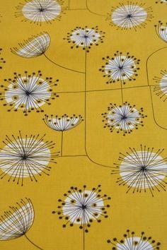 Dandelion Sunflower von Stoffsalon auf DaWanda.com