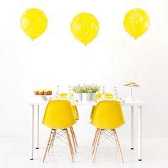 Recent work for @balloontimeheliumtanks  @studiodiy is live on both sites! Lemon yellow errything  #balloontime by jeffmindell