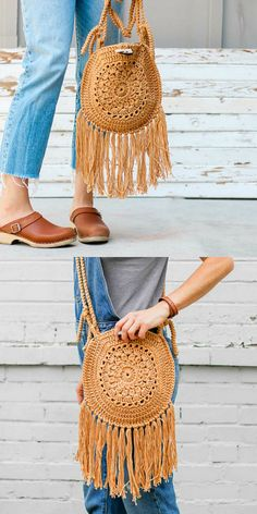 Street fair boho purse free crochet pattern crochet boho flower slouch bag pattern easy crochet bag pattern for beginners Purse Patterns Free, Crochet Purse Patterns, Crochet Motifs, Knitting Patterns Free, Free Pattern, Pattern Sewing, Pattern Ideas, Free Knitting, Crochet Gratis