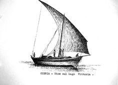 Kenya - dhow sul Lago Vittoria