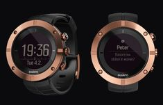 Navigate in style with the Suunto Kailash GPS Smartwatch.. #smartwatch #gps #wearables