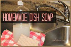 Homemade Dish Soap – A Natural Money Saver