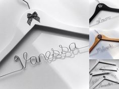 Diy Wedding Hangers, Clothes Hanger, Container, Cnc, Garlands, Wire, Personalized Wedding, Clothes Hangers, Maid Of Honour